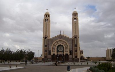 The Day of The Consecration of the Church Of St Mina In Marriot